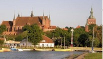 Malbork, Frombork, Toruń