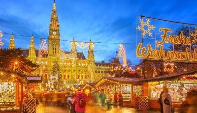 Wiedeń- Jarmark Bożonarodzeniowy