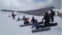 MAŁE CICHE- SNOWBOARD